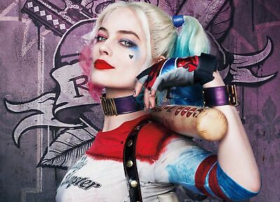 Harley Quinn Suicide Squad Movie Art Silk Poster 8x12inch