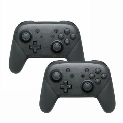 2x Wireless Bluetooth Pro Controller Gamepad + Ladekabel für Nintendo Switch 02