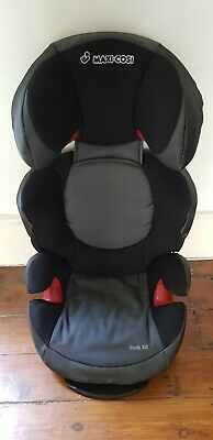 Maxi Cosi Rodi XR Group 2/3 Car Seat, Black (3-12 Years), Excellent Condition