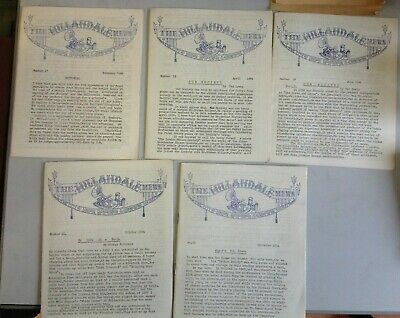 The Hillandale News Issues 17-36 (Not inclusive) 1964-1967 Gramophone (U2410D)