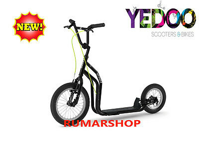 2019 model TOP AANBIEDING YEDOO SCOOTER ROLLER STEP nieuw CITY Black