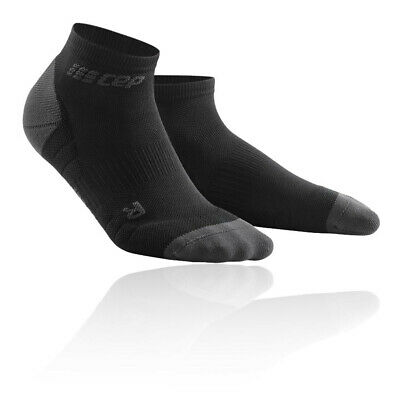 Cep Mujer Low Cut Calcetines 3.0 Negro Gris Deporte Gimnasio Correr Transpirable