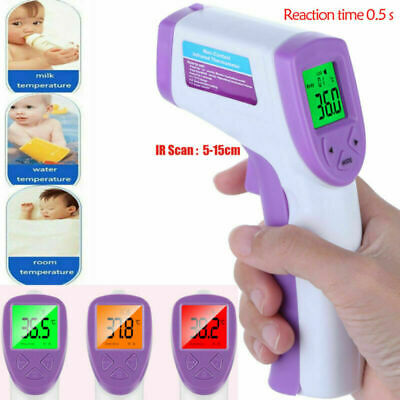 Baby Adults Body Care Non-Contact Forehead Infrared Medical Digital Thermometer