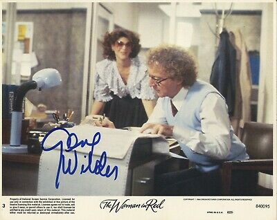 Gene Wilder - American Actress in 'The Woman In Red' In Person Signed Photograph
