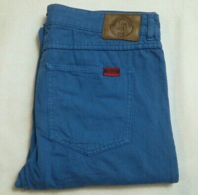 Tom Joules Marriner Jeans Size 34R 34 Regular Blue Straight Leg 100% Cotton
