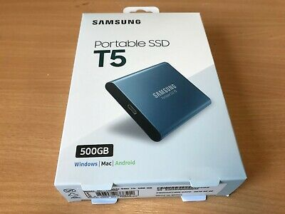 SAMSUNG T5 Solid State Drive 500 GB SSD  - 12 Months Warranty