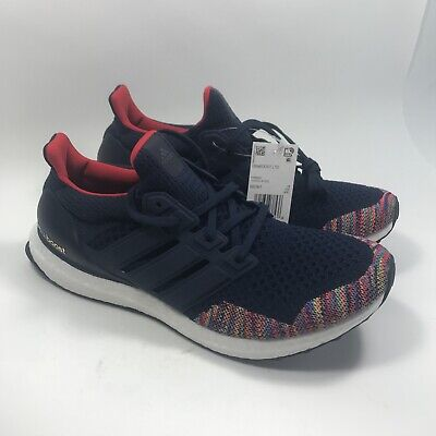 3eb1226166aec ADIDAS ULTRA BOOST Navy Multi-color Mens BB7801 Retro LTD Limited ...