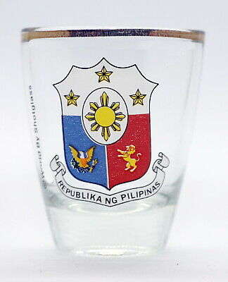 Philippines Shot Glass Shotglass