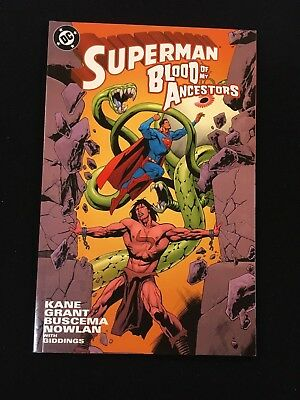 Superman - Blood of my Ancestors - Gil Kane - DC Comics