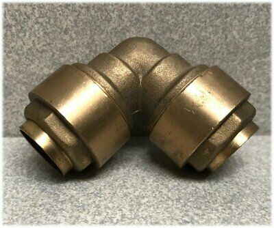 15mm Brass Push Fit Elbow for 15mm Copper Pipe Tube 90 Degree