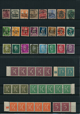 Germany, Deutsches Reich, Nazi, liquidation collection, stamps, Lot,used (HR 67)
