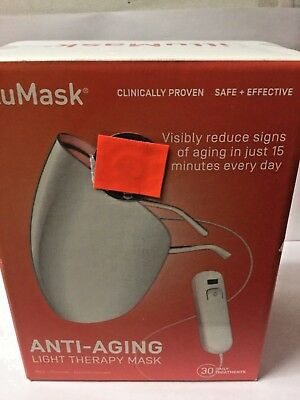 illuMask Anti-Aging Light Therapy Mask clinically proven safe & effective