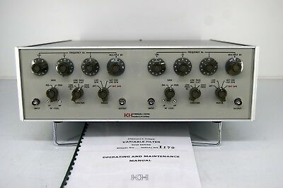 Krohn Hite 3343 Digitally Tuned Audio Variabile Filter