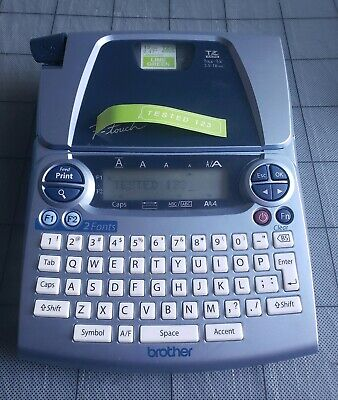 Brother P-Touch PT-1880 Label Machine Thermal Printer Maker PT1880 EUC (TESTED)