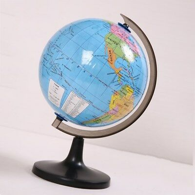 7.2 Inch World Globe Desktop Political Detailed with Stand Globe for Office Home