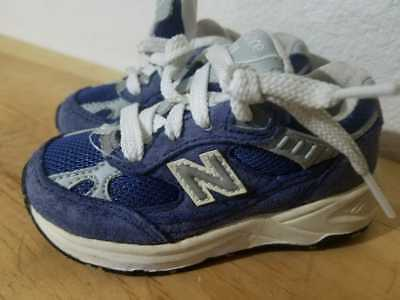 d4c95addd9b5a DESIGNER NEW BALANCE Unisex Kids Sneakers Shoes Gray & Blue Mod Size ...