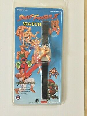 CAPCOM STREET FIGHTER II CHARACTER WATCH 1992 sealed