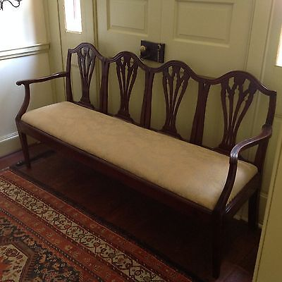 Early 19th century settee