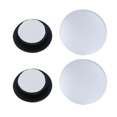2PCS Rearview Mirror Easy to Use Circular Mirror High Definition for Van Vehicle