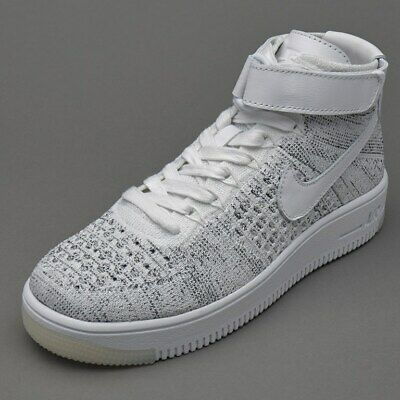 Details about Women's Nike Air Force 1 AF1 Flyknit Low Size 5.5 Oreo BlackWhite 820256 007