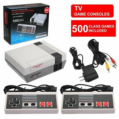 NES Mini Classic Edition Games Console with 500 Classic Nintendo Games EU Plug