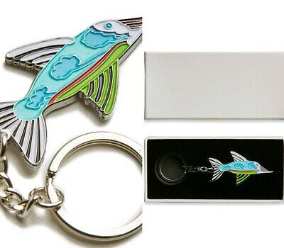 7714eef3a906 BNWT Boxed Pretty Green x The Beatles Fish Keyring    RARE DEADSTOCK    Key