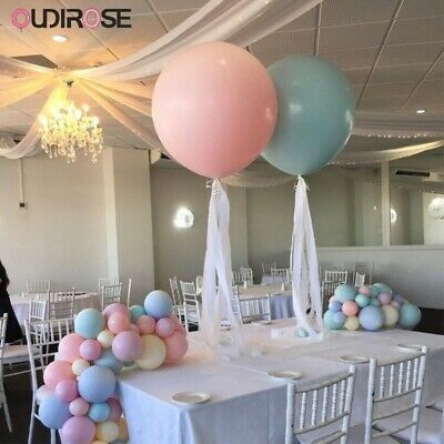 """12-96 pc 12/"""" Pearl White Latex Balloons Party Decoration Birthday Wedding Baby"""