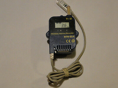 Wireless TandD RTR-53A Data Logger With Temperature / Humidity Sensor