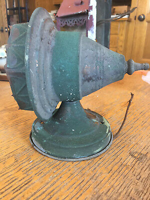 Antique copper wall sconce no shade