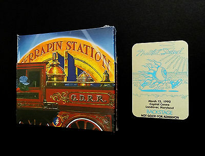 Grateful Dead Terrapin Station 3 CD Poster Backstage Pass 3/15/90 MD Spring 1990