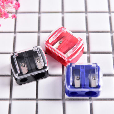 Precision Makeup Cosmetic Pencil Sharpener Eyebrow Lip Liner Eyeliner 2 Holes、HV