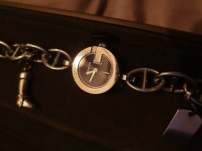 788e16514 Beautiful Gucci 107 Charm Bracelet Watch - With Charms & Box - Great  Condition