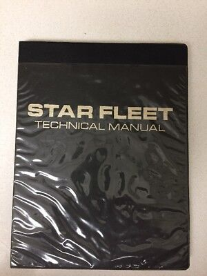 Star Fleet Star Trek Tech Manual First Edition First Print Book By Franz Joseph