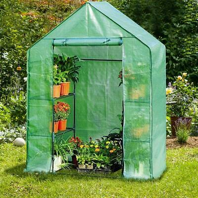 Greenhouse Portable Walk In Mini Frame Film Cover Kit Garden Plant Food Outdoor