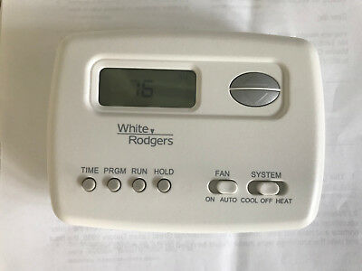 WHITE RODGERS PROGRAMABLE Thermostat - $14 99   PicClick