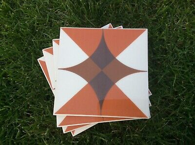 Original vintage wall tiles, excellent condition x 60