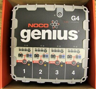 Noco Genius G4 4-bank Batter Charger - New!