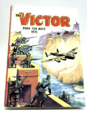 THE VICTOR BOOK FOR BOYS 1970, Children's Annuals, Vintage,
