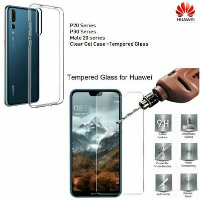 For Huawei P30 Pro Lite P20 Pro Tempered Glass Screen Protector Full Protection