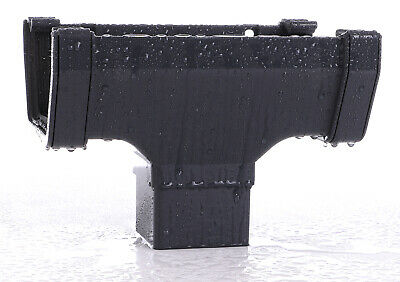 Anthracite Square Guttering and Downpipes