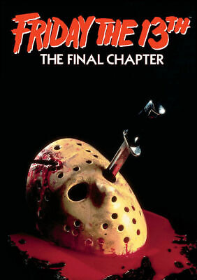 FRIDAY THE 13TH CLASSIC VINTAGE MOVIE Art Silk Poster 8x12inch