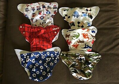 20 Cloth Diaper Covers & 40 Inserts/Liners. Boys/Unisex. Bum Genius