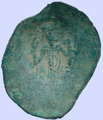 LATIN RULERS of CONSTANTINOPLE Æ Trachy 1204-1261 1.48 g/22.26 mm ANC13645.16