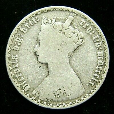 1860 Great Britain Gothic Florin