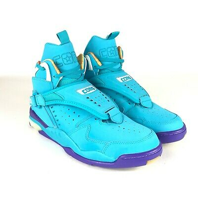 huge selection of 46649 c8f47 Converse Cons Aero Jam Teal 144260c Larry Johnson Charlotte Hornets Easter  10.5