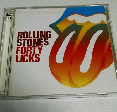 THE Rolling Stones Forty Licks 2CD Virgin Music (2002) 2 CD SET