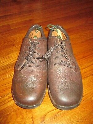 e602905191c Men Size 8 M Red Wing SD Dark Brown Leather Soft Toe Work Shoes Oxfords