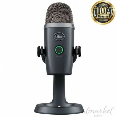 Blue Microphones USB microphone 0281 Yeti Nano Shadow Gray genuine from JAPAN