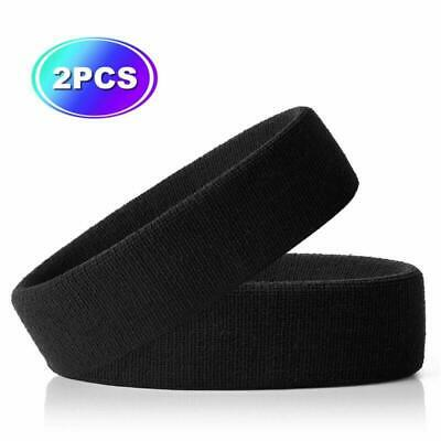 Hoter Sportline Head Band Terry Cloth Headband Sweat Band 2Pcs/3Pcs Pack