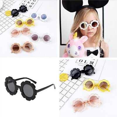 Girls Boys Retro Kids Sunglasses New Fashion Anti-UV Children Glasses AU Local